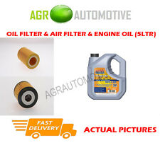PETROL OIL AIR FILTER KIT + LL 5W30 OIL FOR SMART FORTWO 0.6 50 BHP 2004-07