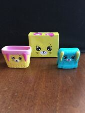 Shopkins Happy Places 2018 McDonalds Happy Meal Toys RARE Turquoise Towel