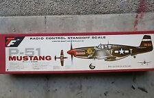TOP FLIGHT P-51A-B red box + D conversion radio control model airplane kit