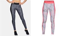 Under Armour UA Women's Heat Gear Printed Gym Leggings - New