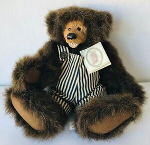 "Kimbearly's Originals Chuckles Plush Bear 3 Tags 11"" A & A 19009 2nd Ed 1829"