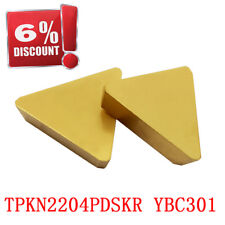TPKN2204PDSKR TPKN43PDSKR YBC301 CNC lathe insert cutting tool carbide blade 10P
