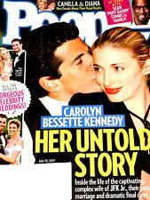 PEOPLE MAGAZINE July 10, 2017 CAROLYN KENNEDY Princess Diana CELEBRITY WEDDINGS