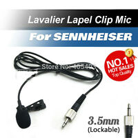 Lavalier Lapel Tie Clip Cardioid Condenser Microphone For Sennheiser Wireless