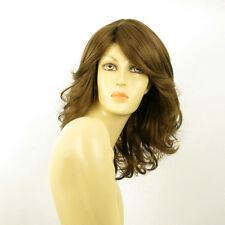mid length wig for women light brown golden ref MAELYS 12  PERUK