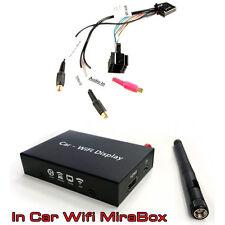 BMW 3 5 series X5 Audio Video Entrée câble avec lien miroir smartphone Interface