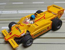 Per h0 CAR RACING modello ferroviario -- Indy * Pennzoil * con Motore Tyco