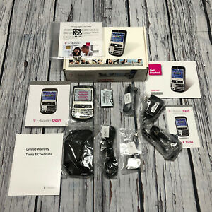 New HTC Touch 3G Dash Phone Black (T-Mobile) Smartphone With Accessories