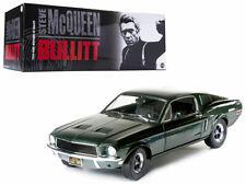 1968 Ford Mustang Gt Green Bullitt Movie 1:18 Diecast Model Car Greenlight 12822