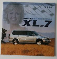 SUZUKI GRAND VITARA XL-7 2001 dealer brochure - French - Canada ST1002000318
