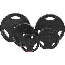 GORILLA SPORTS® Hantelscheiben-Set/Einzeln Kunststoff Gripper 1,25-15 kg 30/31mm