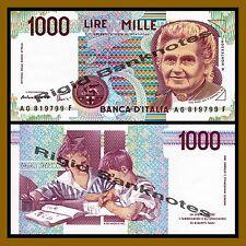 Italy 1000 Lire, 1990 P-114c Unc