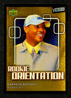 2003-04 CARMELO ANTHONY ROOKIE ORIENTATION UPPER DECK RC #103 - CA1