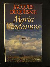 Maria Vandamme - Jacques Duquesne - 1983