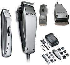 Professional Barber Andis Human Facial Hair Haircutting Buzzer Clipper Tool Kit