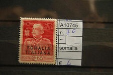 FRANCOBOLLI COLONIE SOMALIA NUOVI** N°70 (A10745)