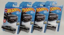 '82 NISSAN SKYLINE R30 * LOT OF 4 * 2018 HOT WHEELS * GRAY SILVER FIRST EDITION