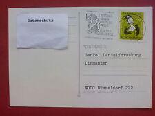 Alte Postkarte Witten 1982 Sonderstempel 3. Wittener Kinderverkehrswoche