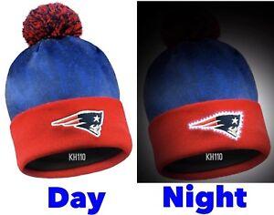 New England Patriots NFL 2017 Logo Light Up Beanie