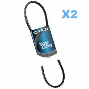 DAYCO Belt Alt x2 FOR Mitsubishi Fuso Canter 87-93,4.2L,8V,OHV,Diesel,FE437