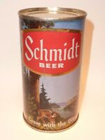 12oz Schmidt Beer Series Flat Top  - Pfeiffer Brewing Co. D/B/A Jacob Schmidt