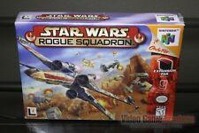 Star Wars: Rogue Squadron (Nintendo 64, N64 1998) H-SEAM SEALED! - RARE!