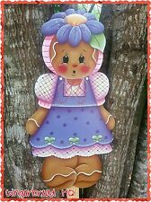 HP Made to Order Wooden Yard Stake Gingerbread , Lawn Decoration, Yard Art