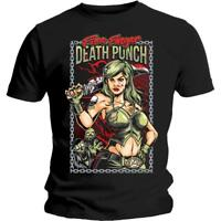 OFFICIAL LICENSED - FIVE FINGER DEATH PUNCH - ASSASSIN T SHIRT METAL FFDP