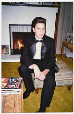 Found PHOTO Young Good-Looking Prom Boy In Black Tuxedo