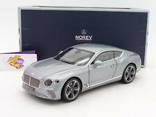 "Norev 182780 # Bentley Continental GT Coupe Bj. 2019 "" grausilbermetallic "" 1:18"