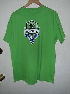 "Seattle Sounders FC Dempsey 2 Green Shirt Size 2XL 23"" armpit 30"" length"