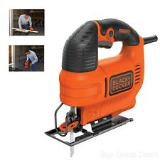 Black Decker Jig Saw Machine Corded Electric Cutter Wood Powerful 5 Amp Motor