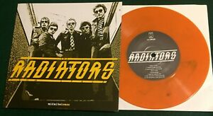 RADIATORS FROM SPACE ~ Midnite Demos  Ireland Rejected 2005 Orange Vinyl EP