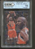 1995-96 Michael Jordan Flair #15 Gem Mint 10 Chicago Bulls MVP HOF