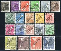 BERLIN, MiNr. 1-20, sauber gestempelt, gepr. Schlegel, Mi. 2400,-