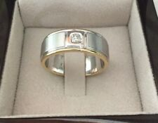 HEAVY & SOLID  Mens 18ct Gold & Diamond Ring $4500 - Brand New