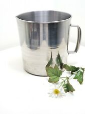 Stainless Steel Beaker 3l Lab Measuring Pitcher Handle