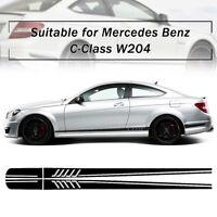 Adesivo Laterale Strisce Auto Decalcomania DIY Per Mercedes/Benz C Class W204