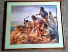 """HOWARD TERPNING's """"DIGGING IN AT SAPPA CREEK"""" A/P 31 OF 75 SIGNED ETC"""