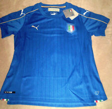 WOMEN'S Sz XL 42 Puma Italy 2016  Home Jersey New With Tags DRY CELL Italia