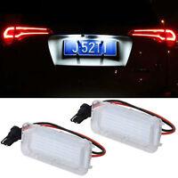 1pcs LED License Number Plate Light White Lamp For Ford Focus Fiesta Explorer
