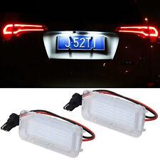 1PC LED License Number Plate Light White Lamp For Ford Focus Fiesta Explorer