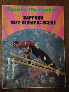 SPORTS ILLUSTRATED MAGAZINE NOVEMBER 15,1971 SAPPORO OLYMPIC COVER