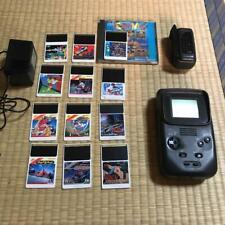NEC PC Engine GT Body 12 Cassettes AC adaptor TV tuner Game  Adventure islaand
