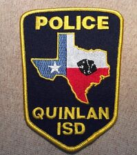 TX Quinlan Texas I.S.D. Police Patch (New)
