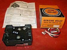 Vintage Sealed Unit Parts Co. Solid State Compressor Start Ralay Syt-4