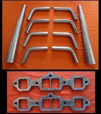 Big Block Oldsmobile 400,425,455 Exhaust Lake Header kit, lakester, u-weld