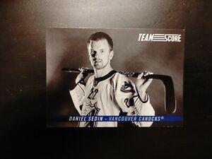 2012-13 Score Team Score Daniel Sedin
