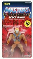 Super7 Masters of the Universe MOTU: Vintage Robot He-man 14 cm Action Figure