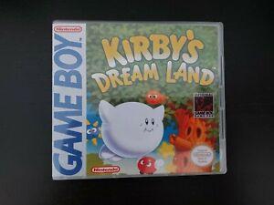 Nintendo Gameboy DMG Kirby's Dream Land Genuine Cart